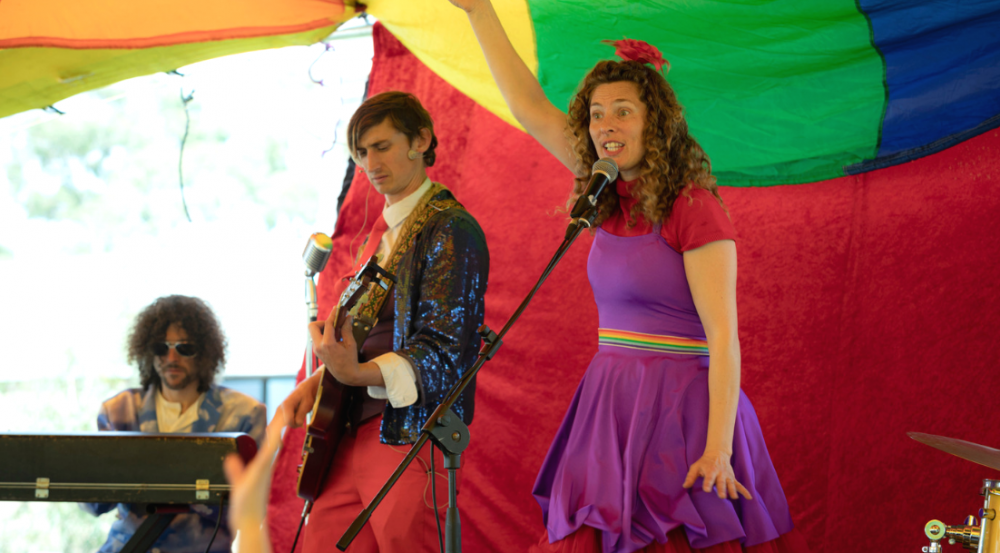 young stage performers