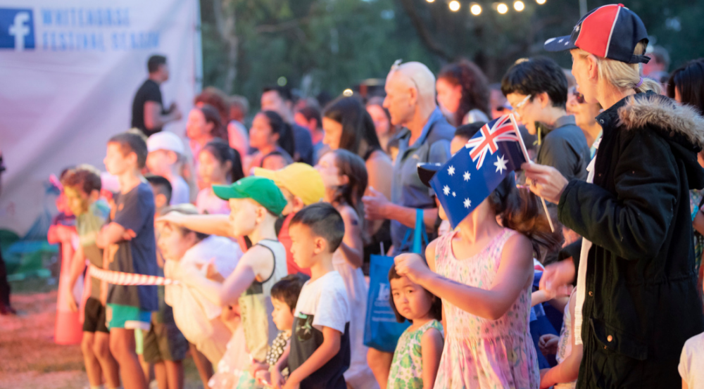 Australia Day Concert attendees