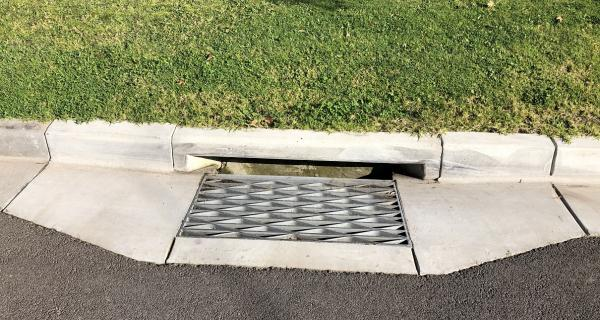 Image of Drain in road reserve