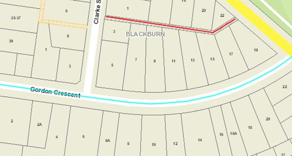 Map of Steel Lane in Blackburn