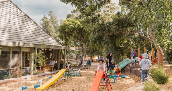 Childcare and Kindergarten playground