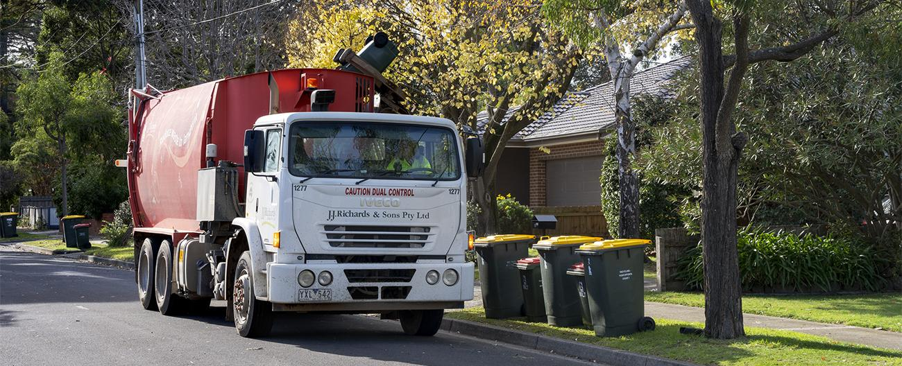 Image of waste truck
