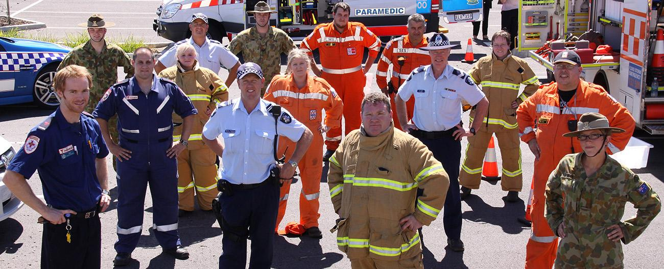 Emergency services personnel